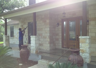 Residential Pressure Wash Exterior
