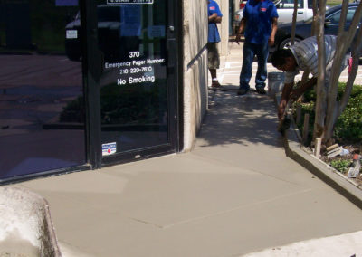 ADA Compliant Ramp and Sidewalk