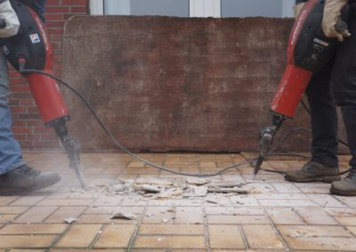 Residential Tile Floor Demolition