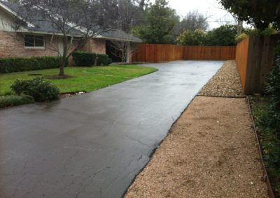 Residential Seal Coat Asphalt Paving