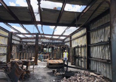Demolition & Removal After Fire Damage