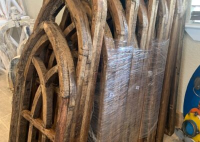 Wood Wall Arches